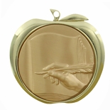 LITERATURE APPLE MEDAL - GOLD, SILVER OR BRONZE