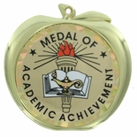 MEDAL OF ACADEMIC ACHIEVEMENT APPLE MEDAL