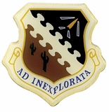 MILITARY SHIELD AD INEXPLORATA PIN