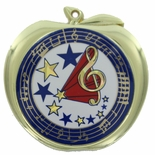 MUSIC APPLE MEDAL