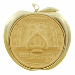 MUSIC GENERAL APPLE MEDAL - GOLD, SILVER OR BRONZE