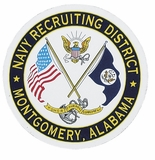 NAVY RECRUITING DISTRICT MONTGOMERY ALABAMA PIN