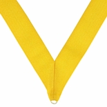 NECK RIBBON METALLIC GOLD