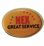 NEX GREAT SERVICE PIN