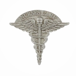 NURSE CARE CADUCEUS LAPEL PIN, 7/8 INCH