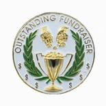1 INCH OUTSTANDING FUNDRAISER PIN