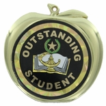 OUTSTANDING STUDENT APPLE MEDAL