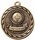 PARTICIPANT MEDAL IN ANTIQUE BRASS ONLY