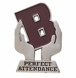 PERFECT ATTENDANCE ACADEMIC PIN