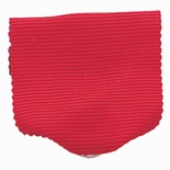 PIN BACK RIBBON, RED