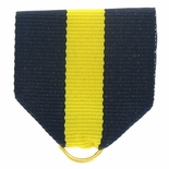 PIN RIBBON NAVY/YELLOW/NAVY