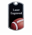 Plain and Sport Dog Tags