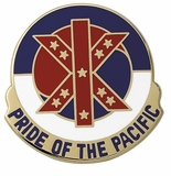 PRIDE OF THE PACIFIC INSIGNIA