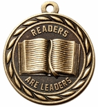READERS ARE LEADERS IN ANTIQUE BRASS ONLY