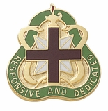 RESPONSIVE AND DEDICATED INSIGNIA