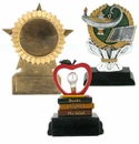 Scholastic Resin Trophies Without Plates