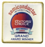 SEMICONDUCTOR EDITORS CHOICE AWARD PIN
