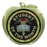 STUDENT OF THE MONTH APPLE MEDAL