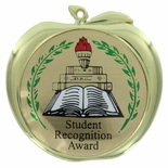 STUDENT RECOGNITION AWARD APPLE MEDAL