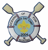 SUMMER DAY CAMP BOY SCOUT PIN