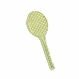 TENNIS RACKET CHENILLE PIN GOLD