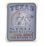 TEXAS STATE WRESTLING TOURNAMENT PIN