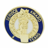 5 YEARS OF SERVICE AWARD PIN
