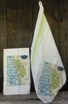 Gooseberry Press Big Sur Tea Towel