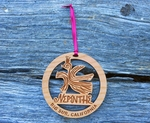Nepenthe Logo Wood Ornament