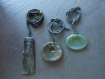 Big Sur Jade Pendants- Contact for Available Styles and Prices