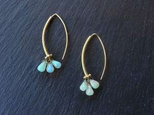 Ethiopian Opal Earrings by Barbara Heinrich