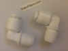 "Elbow Male Connector 1/4""x1/4"" QC 2-Pack"