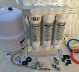 HiDROTEK 5 Stage Quick Change Reverse Osmosis Water System 50 GPD