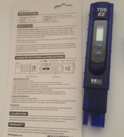HM Digital TDS Hand-held Tester TDS-EZ