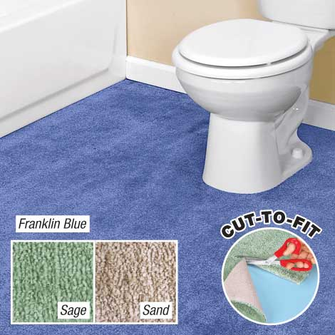 Bathroom rugs cut to fit my web value for Bathroom ideas for 5x6