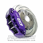 D2 Racing (D2-BBKF12380) Front, Big Brake Kit - 12 Piston Caliper, with 380mm Disc