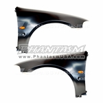 Password JDM (Honda Civic, 2004-05) JDM Style, Metal Fenders, Sold As Pairs