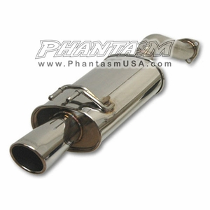 Vibrant (1626) Cat Back Exhaust System, with Street Power Muffler, Honda Civic Si (2006-11) 2 Door, Coupe