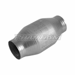 VIBRANT (7101) 2.50 INCH, HIGH FLOW CATALYTIC CONVERTER WITH METAL CORE