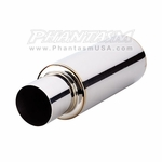 Vibrant - Universal TPV Mufflers - with Straight Cut Exhaust Tip (Save 20%)