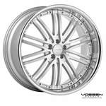 Vossen Wheels - VVS082 - Silver Machined, Stainless Lip (Save 15%)