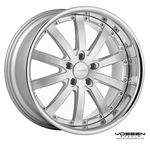 Vossen Wheels - VVS083 - Silver Machined, Stainless Lip (Save 15%)