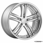 Vossen Wheels - VVS085 - Silver Machined, Stainless Lip (Save 15%)
