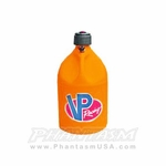 VP Racing (3172) Fuel Container, Round Style, Orange Color (5 Gallon) Jerrycan