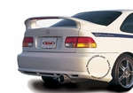 Wings West (591282-V26L) 3-Piece Mid-Wing with 26 Inch Light - Honda Civic (1996-00) 2 Door, Coupe