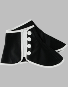 Black Ceremonial Spats