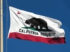 California State Polyester Flag 10x15Ft Outdoor w/rope heading