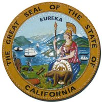 California State Seal Wall & Podium Plaque