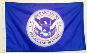 Department Of Homeland Security Flags