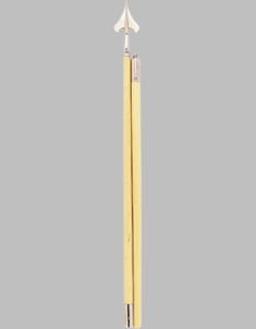 Guidon Pole Set (Round Bottom)